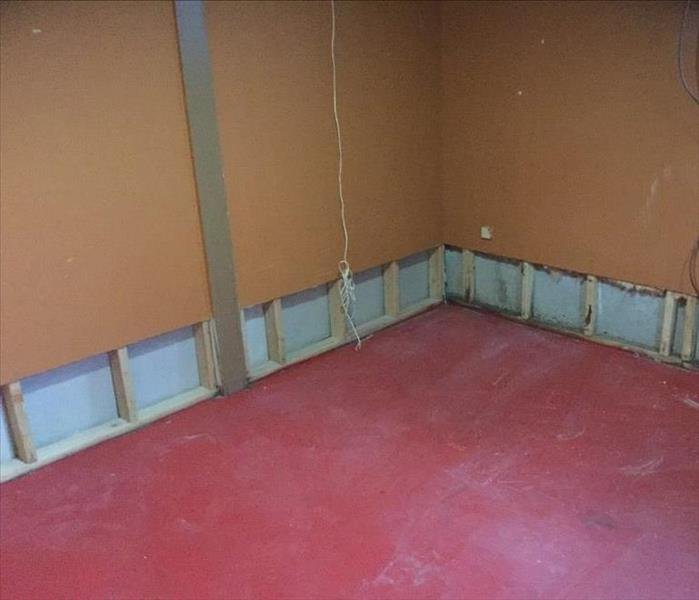 Demolition During a Water Damage