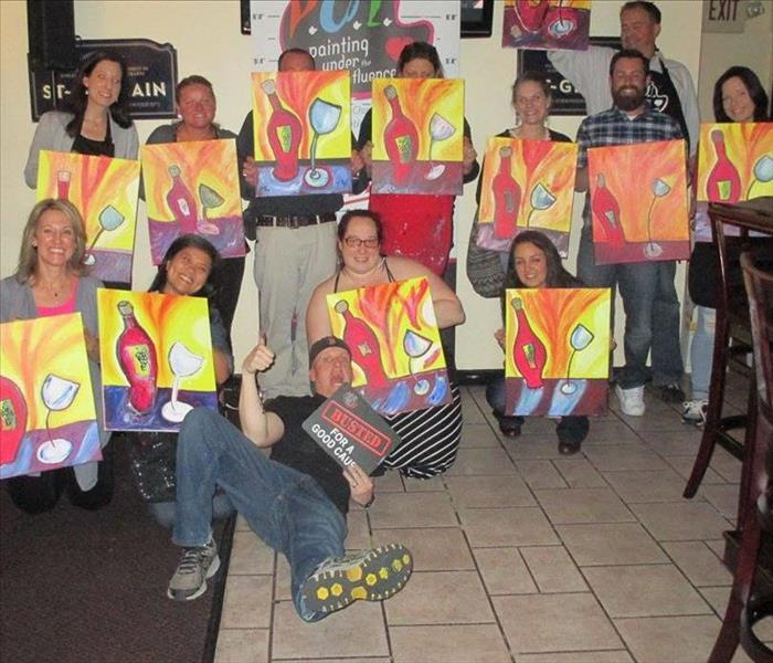 Painting Under the Influence for the American Diabetes Association